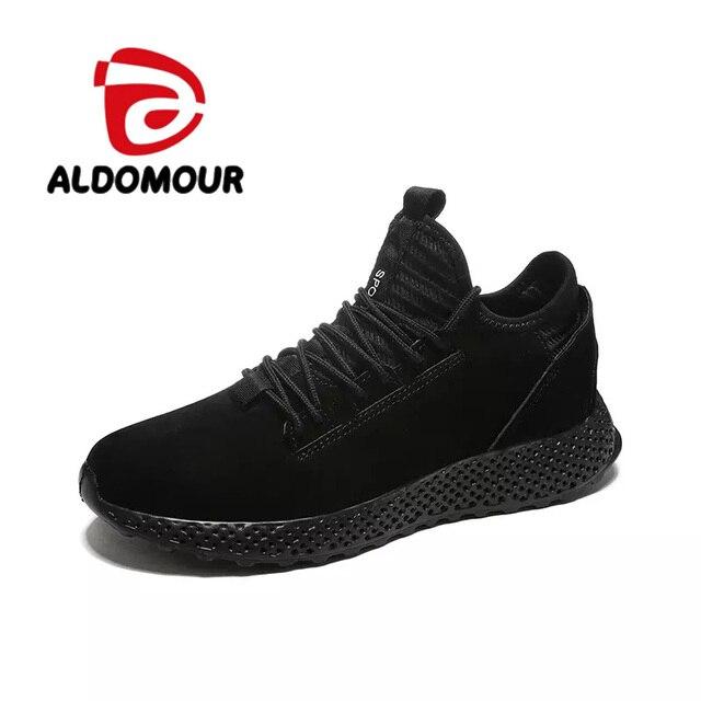 ALDOMOUR 3Color Men's Shoes 2018 New Spring New Men's Casual Shoes Sports Breathable Shoes Size39-44 ZMQ