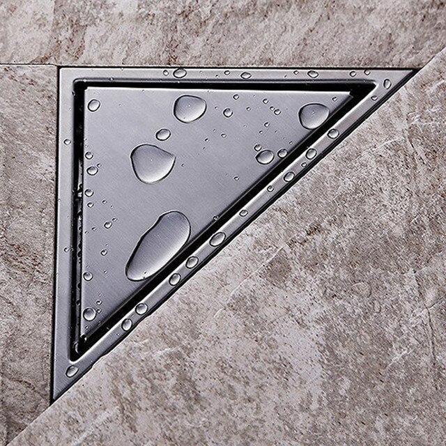 Duschablauf Wand dreieck wand ecke edelstahl gebürstet boden duschablauf wetroom