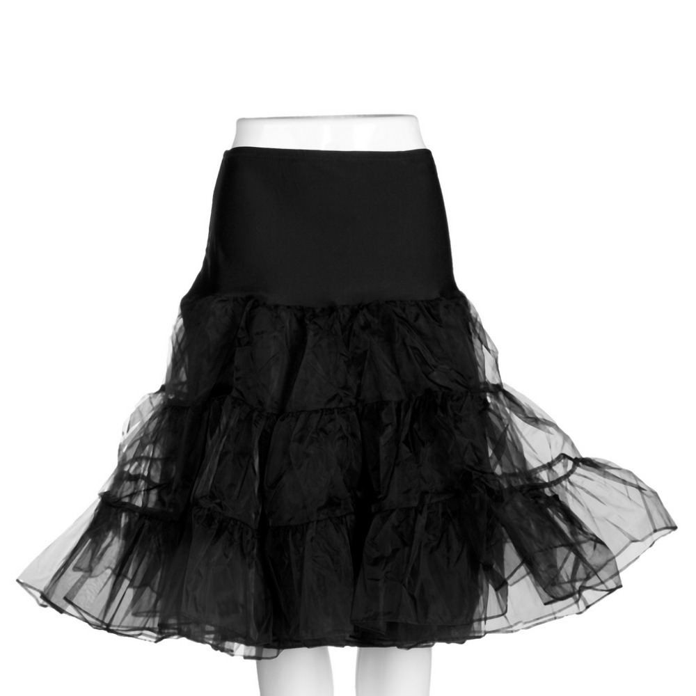 Shop2815065 Store New  NEW Vintage Tea Length Swing Skirt Prom Slips Crinoline Bridal Petticoat Underskirt  Fashion Skirts Elegant Womens Office