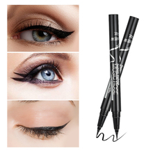 MUSIC ROSE Black Eyeliner Pencil High Pigmented Waterproof Pen  Long-lasting Liquid Eye Liner Smooth Make Up Tools купить недорого в Москве