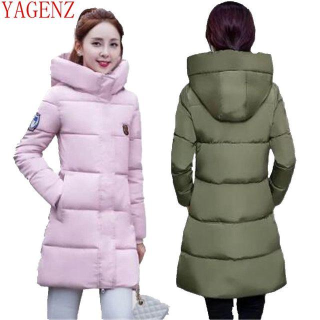 YAGENZ Han edition женское базовое пальто с хлопковой подкладкой, пальто для студентов, большие размеры, женская одежда, зимняя куртка, пальто, толстая, K692