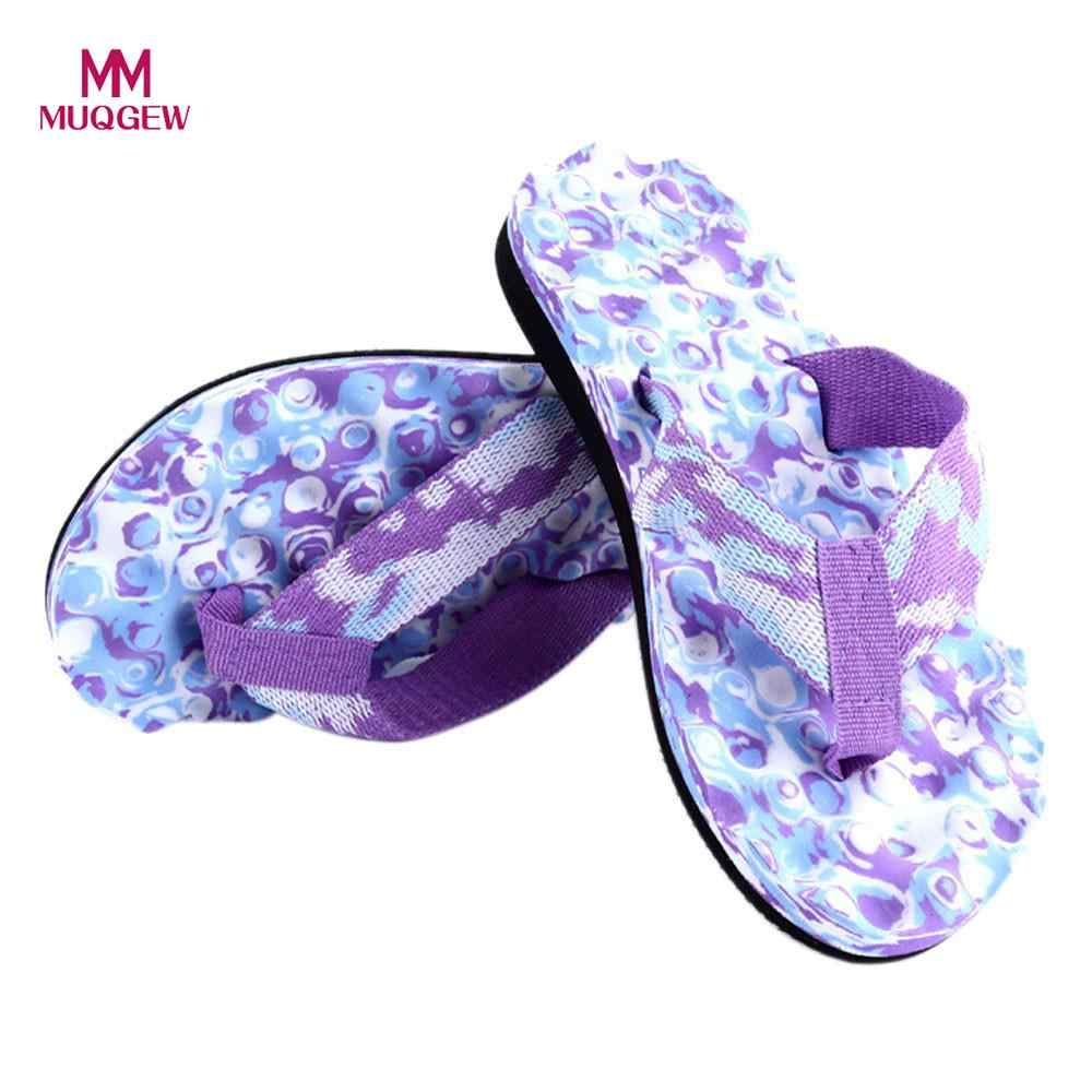 المرأة الصيف التمويه الوجه يتخبط الأحذية الأزهار المطبوعة الإناث مثير أحذية الشاطئ الصنادل النعال داخلي و خارجي المتأرجح