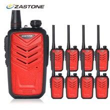 8pcs Zastone MINI8 walkie talkies set UHF 400-470MHz 128CH walk talk radio walkie-talkie Mini Portable Two Way Radio Transceiver