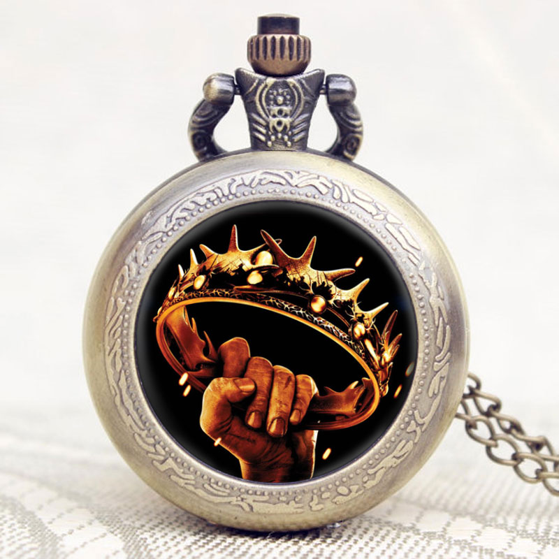 Hot Novel A Song of Ice and Fire The Game of Thrones American Drama Extension War Is Coming Theme Pocket Watch vn in the summer of 2016 popular american tv drama aegis bureau agents luminous printing logo backpack trend a surprise gift