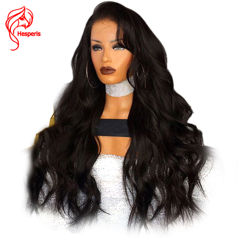 Hesperis 250 Density Lace Front Human Hair Wigs Pre Plucked 5x4.5 Silk Top Lace Wigs Brazilian Wave Remy Hair Silk Base Wigs
