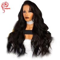 Hesperis 250 Density Lace Front Human Hair Wigs Pre Plucked 5x4.5 Silk Top Lace Wigs Brazilian Wave Remy Hair Silk Base Wigs