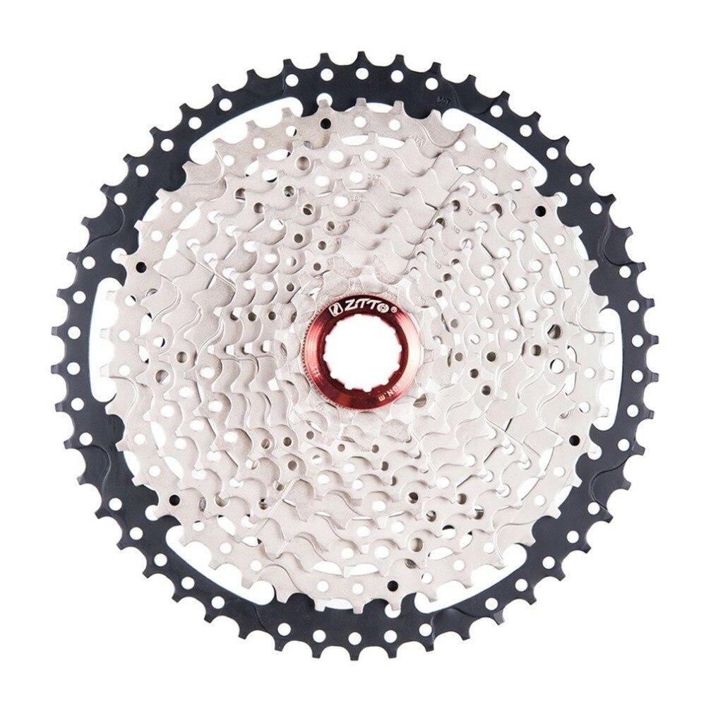 ZTTO 11 vitesses Cassette 11-50T Compatible vélo de route système Sram haute résistance en acier pignons pliant noir argent engrenage