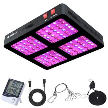 Phlizon LED Plant Grow Light 600W 1200W Panel Full Spectrum Grow Lamp for Greenhouse Bloom and Vegetable