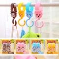 4pcs Multi Purpose Hooks  Hange Baby Toys hook Stroller Hooks hangers Lovely Plastic Baby Stroller Pram Pushchair