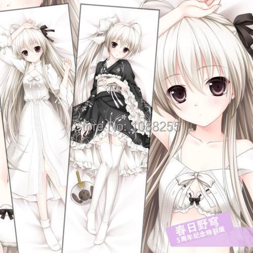 """59/"""" Anime Yosuga no sora Kasugano sora Dakimakura Hug Body Pillow Case Cover Hot"""