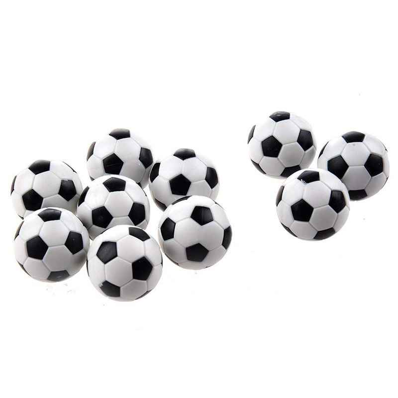 6PCS Small Football Style Table Ball Foosball Hard Plastic Table Ball Counterpart Game Children Toy 32mm
