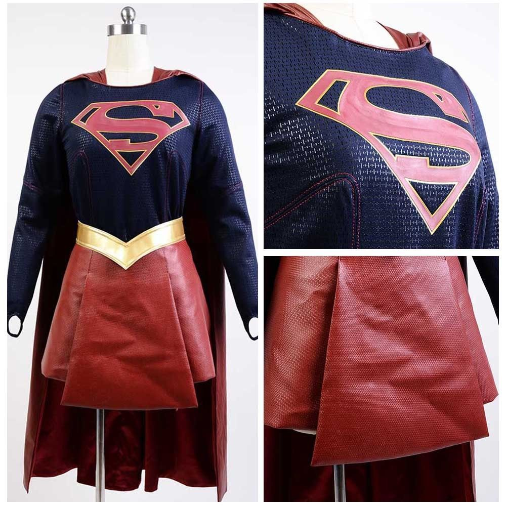 Supply Cbs Supergirl Cosplay Costume Kara Zor-el Danvers Costume Cape Halloween Carnival Cosplay Costumes Back To Search Resultsnovelty & Special Use