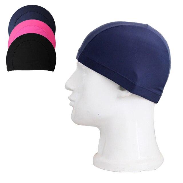 2018 New Fashion Brands Unisex Comfortable Adult Swimming Hat Cap Swim Mens Womens  Nylon Spandex Fabric Swimming Accessories fb875ad111