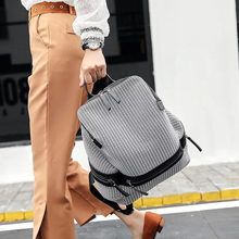 Popular fashion ladies backpack high quality youth personality girl female student shoulder bag Bagpack mochila