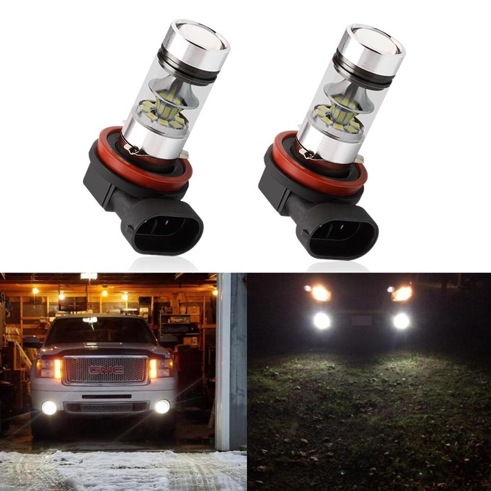 Image 5 - 2pcs H11 H8 LED Fog Light Bulbs 9005 HB3 HB4 9006 Car LED Running Lights Auto Driving Lamp 12V  6000K White-in Car Headlight Bulbs(LED) from Automobiles & Motorcycles