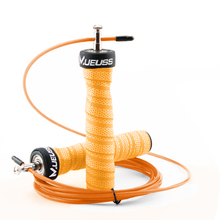 MUEUSS High Speed Jump Rope Professional Adjustable Skipping With Portable Bag Skip Anti-Slip Handle For Double Under
