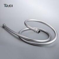 Tulex шланг для душа из ПВХ Водостоки шланг 1,5 м 2 м ручной душ для ванной шланг аксессуар для Ванная комната взрыв-доказательство трубы высокое...
