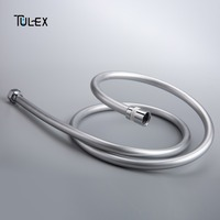 Tulex PVC Shower Hose Plumbing Hose 1.5m 2m Bathroom Hand Shower Hose Accessory for Bathroom Explosion proof Pipes High Quality