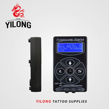Professional Tattoo Power Supply Hurricane HP-2 Powe Supply Digital Dual LCD Display Tattoo Power Supply Machines