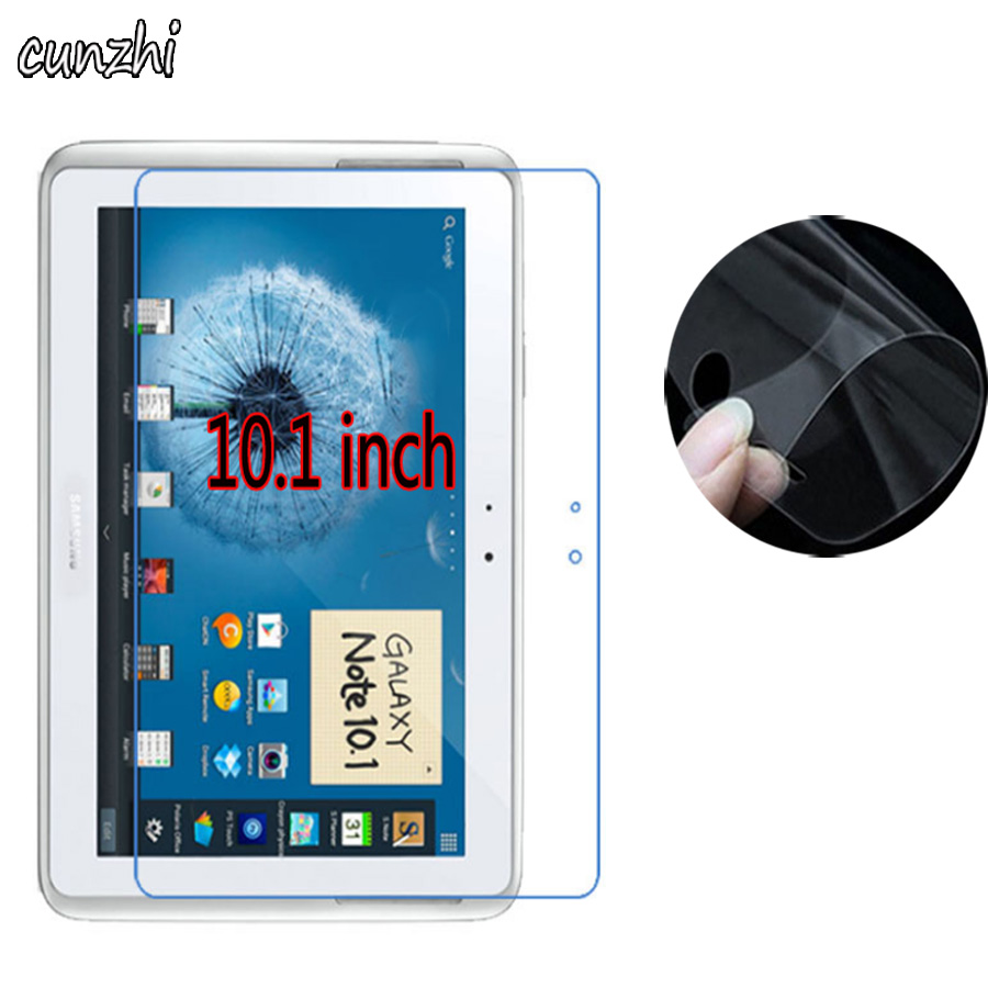 Logical 2pcs Clear Soft Ultra Slim Screen Protectors For Samsung Galaxy Note 10.1 N8000 N8010 P5100 10.1 Tablet Protective Film To Have Both The Quality Of Tenacity And Hardness Tablet Accessories