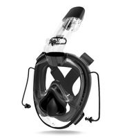 Diving Mask Full Face Scuba Diving Mask One piece Gasbag Snorkeling Swimming Mask for Kids Adults Newest