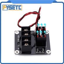 3D Yazıcı Isıtmalı Yatak Güç Modülü/Hotbed MOSFET Genişletme Modülü Inc 2pin Kurşun Anet A8 A6 a2 Rampaları 1.4