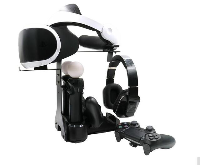 5in1 VR Стенд с PS4 Move Контроллер Зарядные Устройства и Дисплей Станции хранения кронштейн Для PS4 VR Гарнитура PS VR/PS4 VR Док стенд