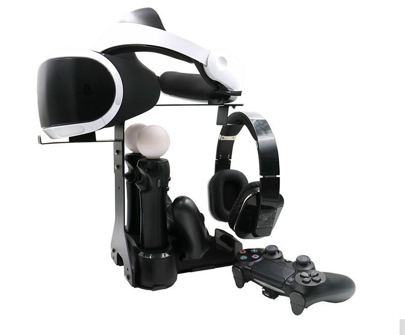 Accessoires de jeux avec 5in1 VR avec PS4 Contrôleur de Mouvement Chargeurs Pour PS4 VR PS VR Caméra/Casque/Double Vibration 4 Déplacer
