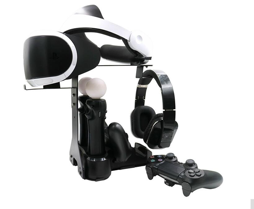 Game accessories with 5in1 VR <font><b>Stand</b></font> with PS4 Move Controller <font><b>Chargers</b></font> For PS4 VR PS VR Camera/Headset/ Dual Vibration 4 Move