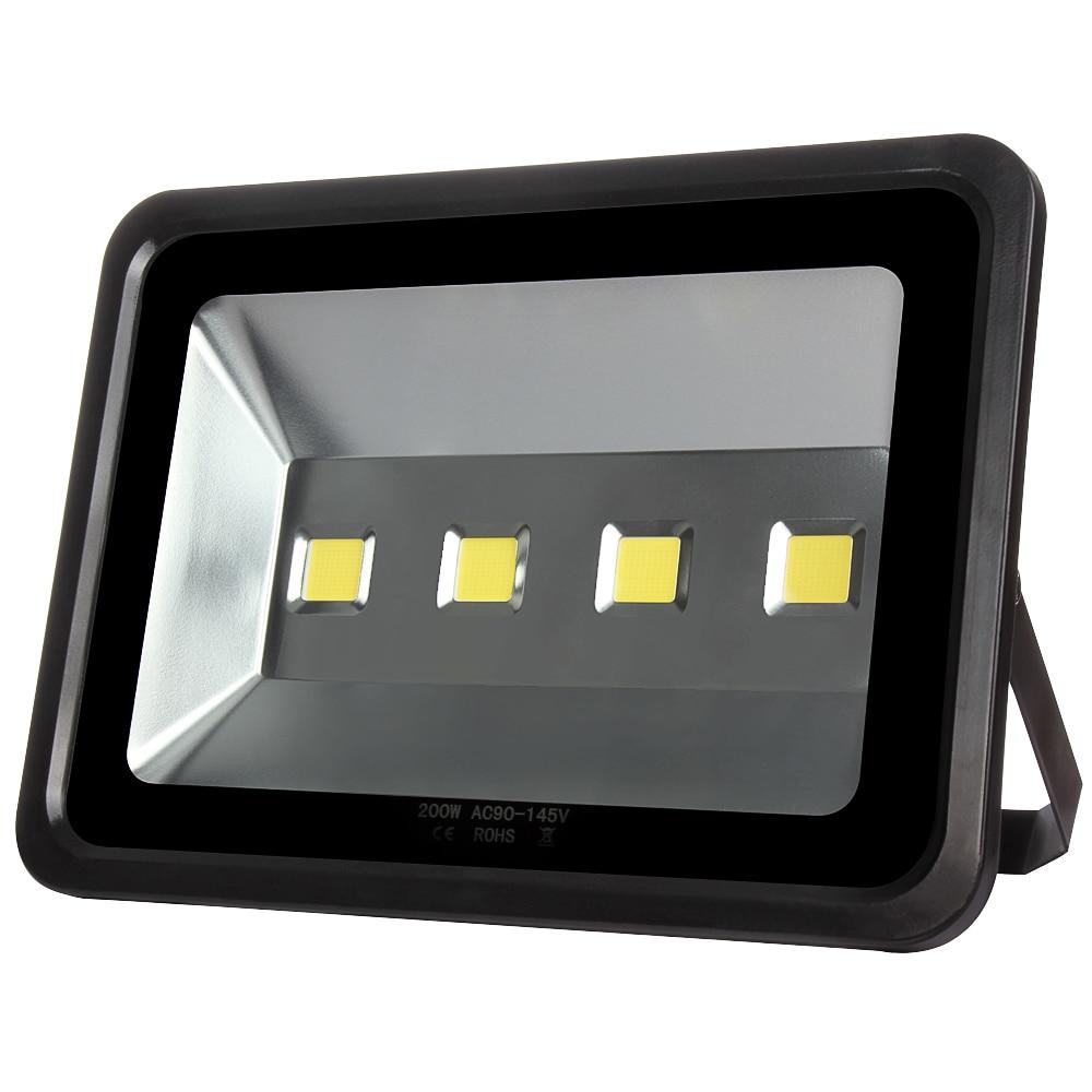 1pcs 200W Led Flood Light High Power Spotlight Outdoor Lighting Waterproof Led Floodlight Outdoor light AC220V