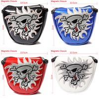 NEW High Quality Shield Golf Putter Cover Headcover Mallet Putter Cover Golf Club Headcover Craftsman Golf