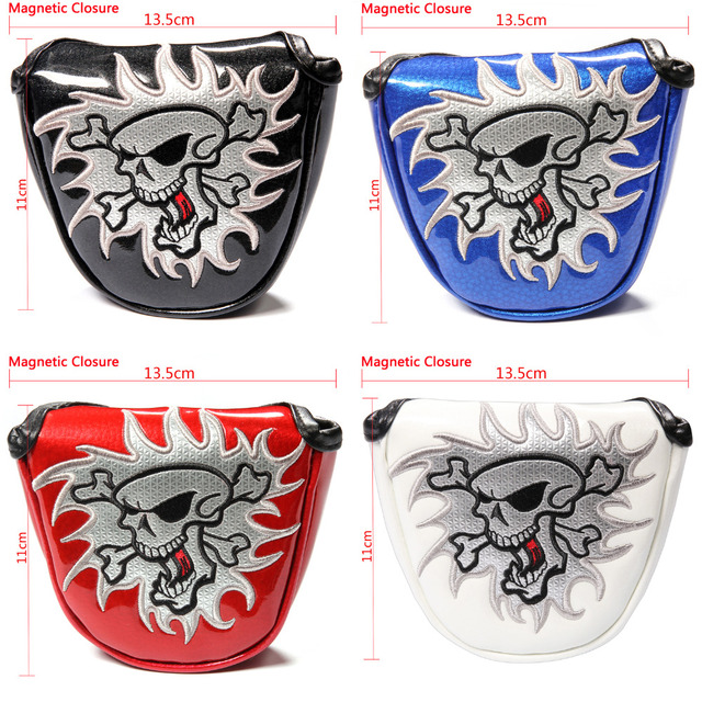 NEW High Quality Shield Golf Putter Cover Headcover Mallet Putter Cover Golf club Headcover Siranlive Golf USA FREE SHIPPING