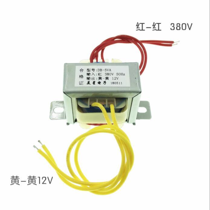 12V 0.42A Transformer 5VA EI41 Transformer 380V input Power Transformer for power supply transformer12V 0.42A Transformer 5VA EI41 Transformer 380V input Power Transformer for power supply transformer