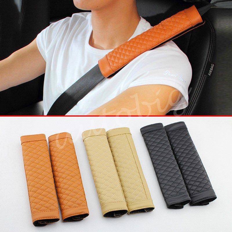 Safe Auto Customer Service >> 2PCS Car Auto Seat Safe Belt Cover Pad Shoulder Harness ...