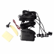 1Set Car LED Parking Sensor Assistance Reverse Backup Radar Monitor System Backlight Display+4 Sensors Free shipping
