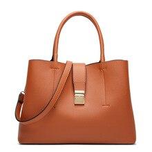 купить New Arrival PU Leather Hand Bags Luxury Women Crossbody bag Fashion Shoulder Bag Lady Large Capacity Top Handle Bag Sac A Main недорого