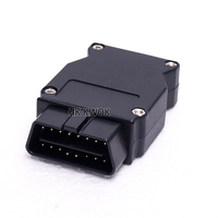 Free DHL/EMS 100pcs/lot For bmw ENET Ethernet to OBD 2 Connector E-SYS ICOM Coding F-series Interface Car Adapter
