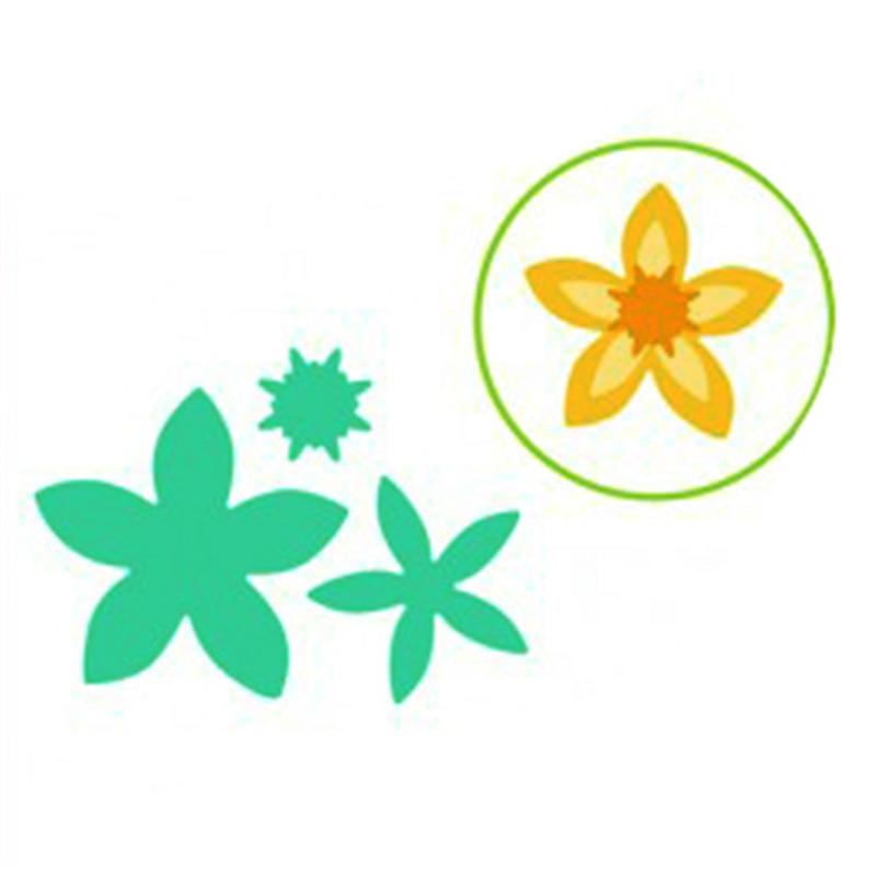 YaMinSanNiO Floral Bouquet Dies Scrapbooking Metal Cutting New 2019 Flowers Die Cuts for Card Making Flowers Craft Dies Emboss in Cutting Dies from Home Garden