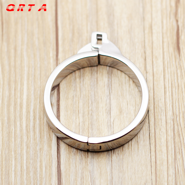 5 size Penis Lock Refill Stainless Steel Cock Rings For Chastity Crafts Metal Male Chastity Device Fetish Adult Sex Toys Style