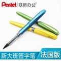 Японская авторучка с надписью «Pentel Boss» TRJ50 TRJ91  прямая ручка с жидким рисунком  французский вариант  1 шт.