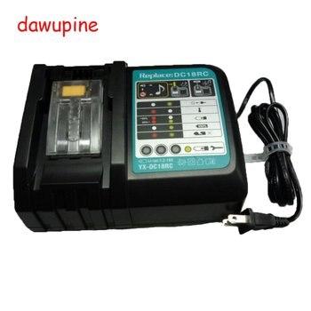 Dc18rct 전기 드릴 부품 makita 18 v 14.4 v lithuim 이온 배터리 bl1830 bl1430 피팅 액세서리 용 리튬 이온 배터리 충전기