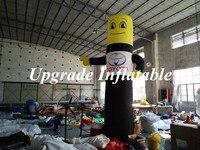 Новый дешевый рекламный надувной трубчатый человек/стоящий надувной воздушный шар с индивидуальным логотипом и воздуходувкой
