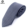 Ties for Men Dot Striped Smooth Jacquard Woven Classic Silk Polyester Man's Business Luxury Tie Corbatas Casual Necktie Cravate