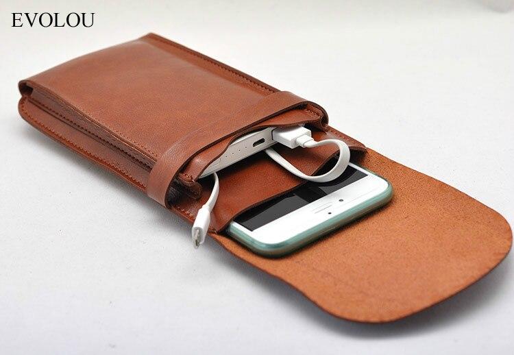 Geantă din piele originală cu pungă cu sac pentru geantă Xiaomi - Accesorii și piese pentru telefoane mobile