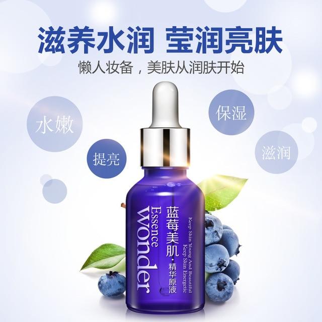 Blueberry Hyaluronic Acid Liquid Anti Wrinkle Anti Aging Collagen Pure Essence Whitening Moisturizing Skin Care Day Cream Oil 2