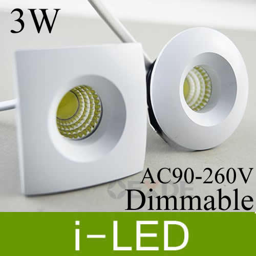Mini Cob 3w 5w Led Downlight Recessed Lights Lamp Dimmable Exhibition Ac90 260v Warm Cold White Cri 85 Driver Ul Ce In Downlights From