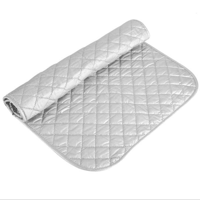 Ironing Mat Laundry Pad Washer Dryer Cover Board Heat Resistant Blanket Mesh Press Clothes Protect Protector 48*85cm image