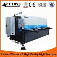 QC11Y Hydraulic Steel Plate Guillotine Shear Hydraulic Swing Beam Shearing Machine