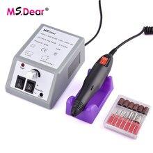 Profesional 20000 RPM uñas taladro eléctrico manicura conjunto de la máquina eléctrica uñas arte taladro lijado archivos poco taladro de uñas de arte