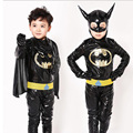 Muchachos Batman Superhéroe Traje de Halloween Fantasia Carnaval Anime Cosplay Ropa de Navidad Fancy Dress For Kids Niños